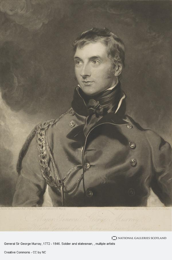Henry Meyer, General Sir George Murray, 1772 - 1846. Soldier and statesman