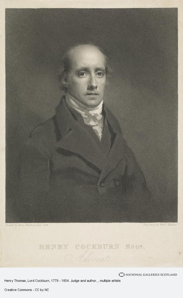 Henry Thomas Lord Cockburn 1779 1854 Judge And Author