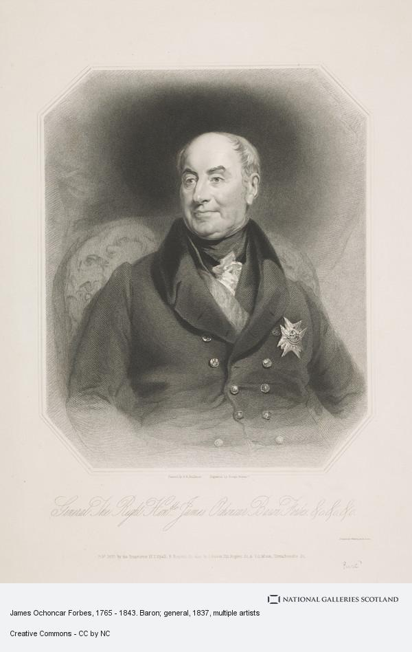 Joseph Brown, James Ochoncar Forbes, 1765 - 1843. Baron; general