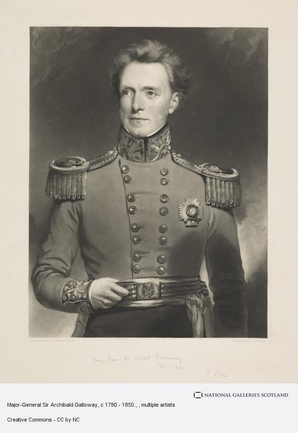 Jean Ferdinand Joubert, Major-General Sir Archibald Galloway, c 1780 - 1850.