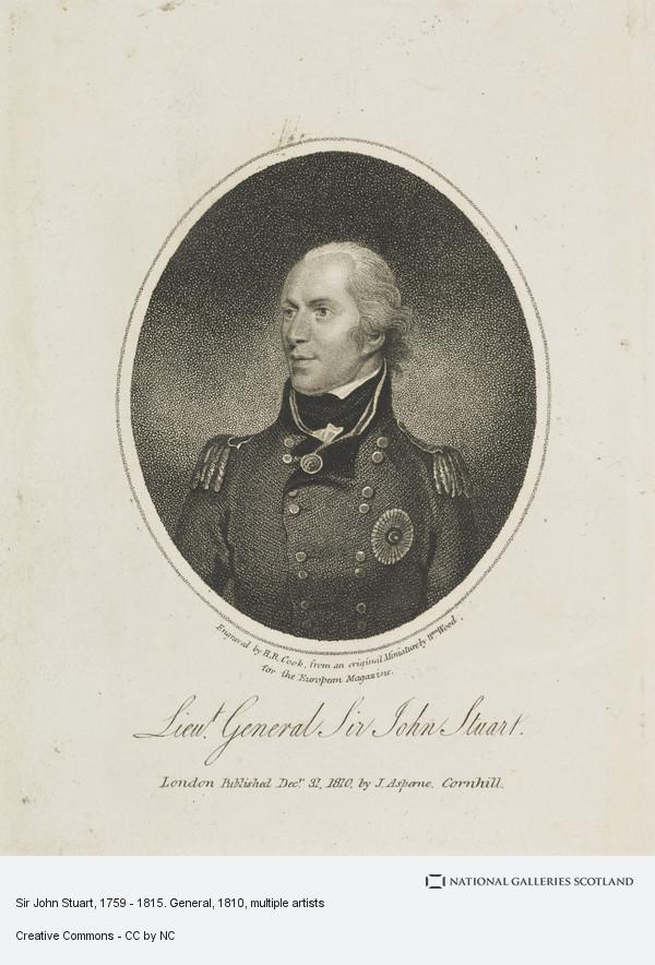 Henry Richard Cook, Sir John Stuart, 1759 - 1815. General