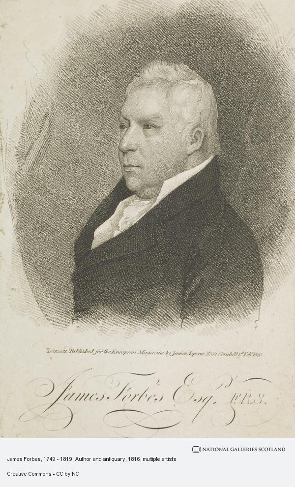 Thomas Blood, James Forbes, 1749 - 1819. Author and antiquary