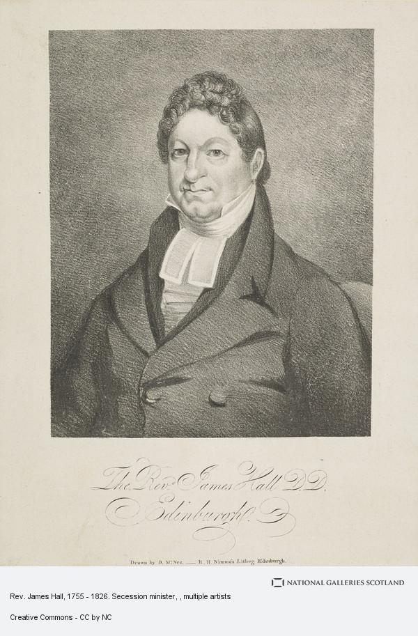 R.H. Nimmo, Rev. James Hall, 1755 - 1826. Secession minister