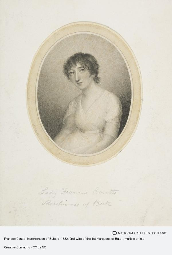 Caroline Watson, Frances Coutts, Marchioness of Bute, d. 1832. 2nd wife of the 1st Marquess of Bute