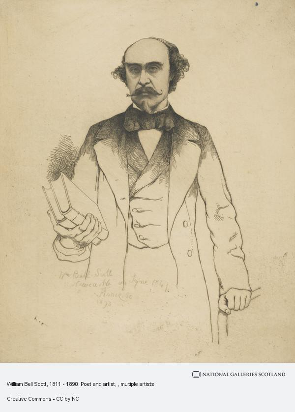 William Bell Scott, William Bell Scott, 1811 - 1890. Poet and artist