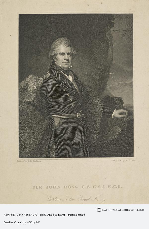 Robert Hart, Admiral Sir John Ross, 1777 - 1856. Arctic explorer