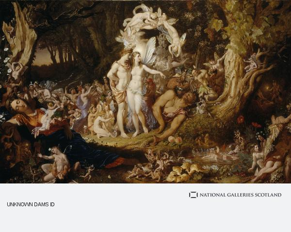 Sir Joseph Noel Paton, The Reconciliation of Oberon and Titania (1847)