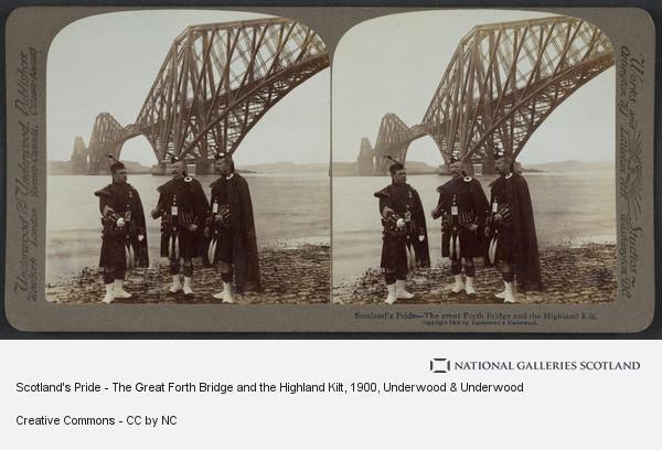 Underwood & Underwood, Scotland's Pride - The Great Forth Bridge and the Highland Kilt