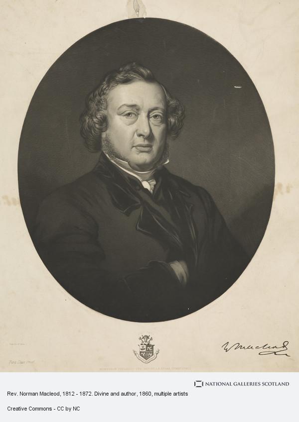 Alexander Scott, Rev. Norman Macleod, 1812 - 1872. Divine and author