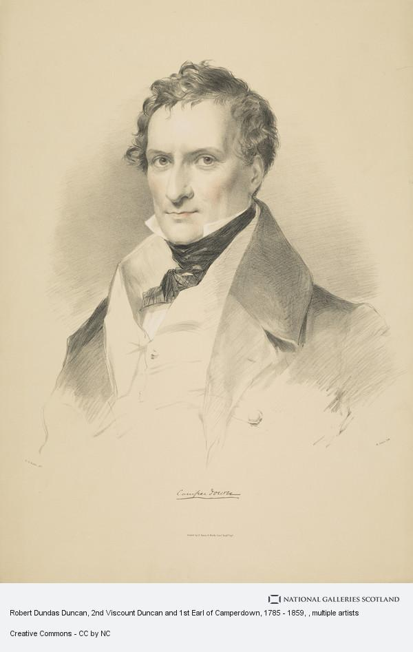 M. Gauci, Robert Dundas Duncan, 2nd Viscount Duncan and 1st Earl of Camperdown, 1785 - 1859