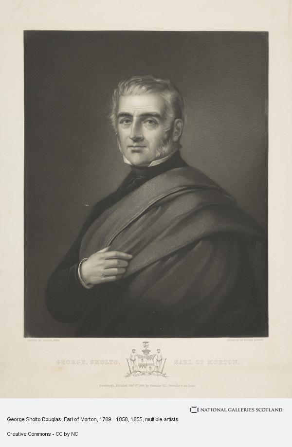 Edward Burton, George Sholto Douglas, Earl of Morton, 1789 - 1858