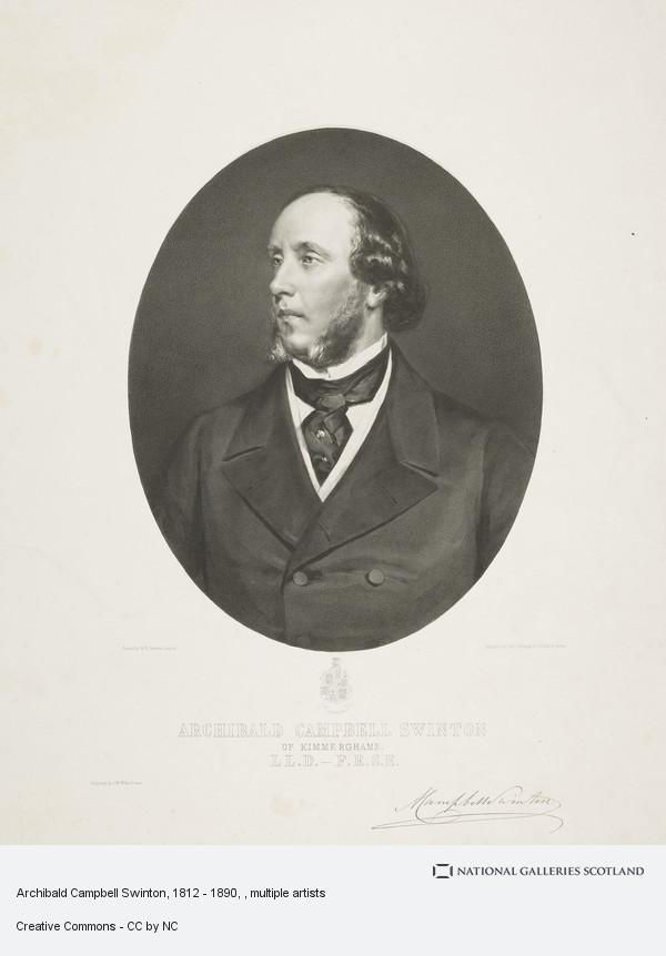 James Rannie Swinton, Archibald Campbell Swinton, 1812 - 1890