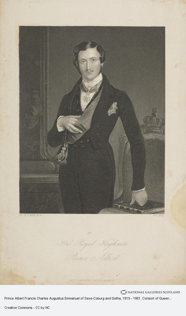 Sir William Charles Ross, Prince Albert Francis Charles Augustus Emmanuel of Saxe-Coburg and Gotha, 1819 - 1861. Consort of Queen Victoria