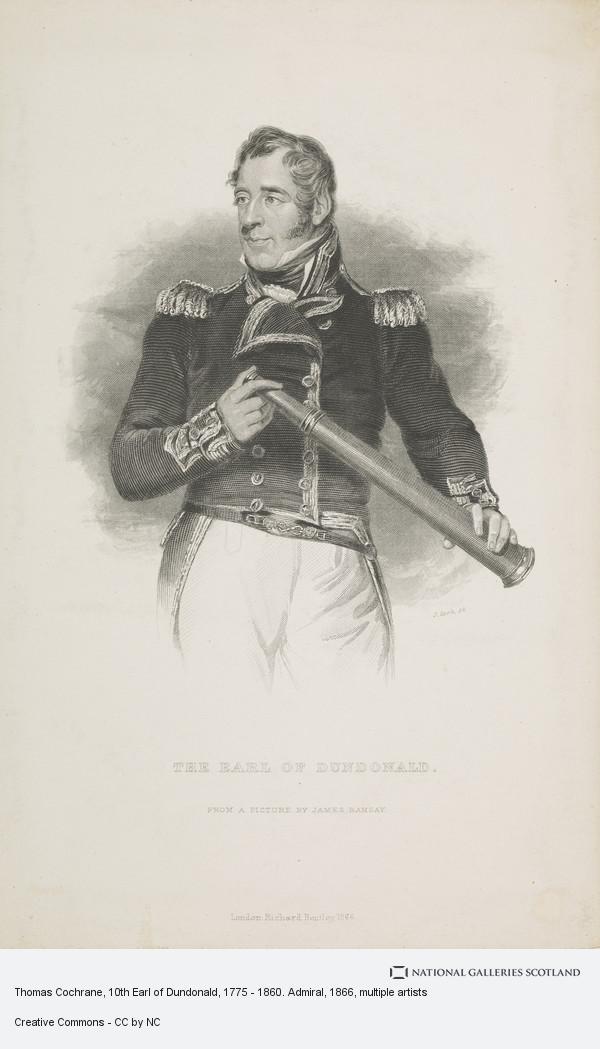 J. Cook, Thomas Cochrane, 10th Earl of Dundonald, 1775 - 1860. Admiral