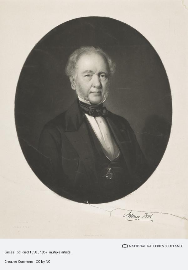 James Edgar, James Tod, died 1858.