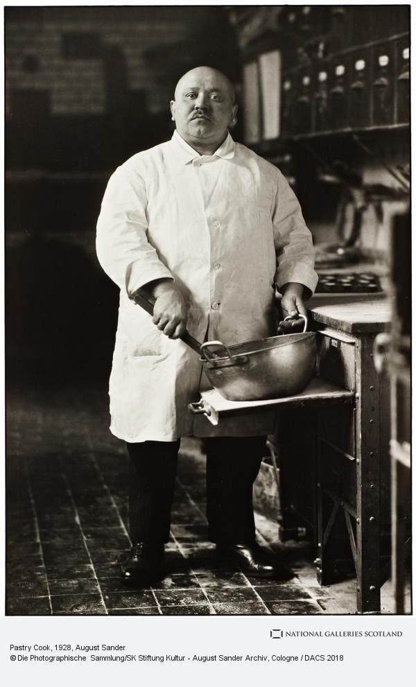 August Sander, Konditor [Pastry Cook], 1928 (1928)