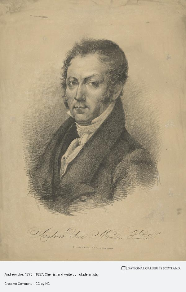 R.H. Nimmo, Andrew Ure, 1778 - 1857. Chemist and writer