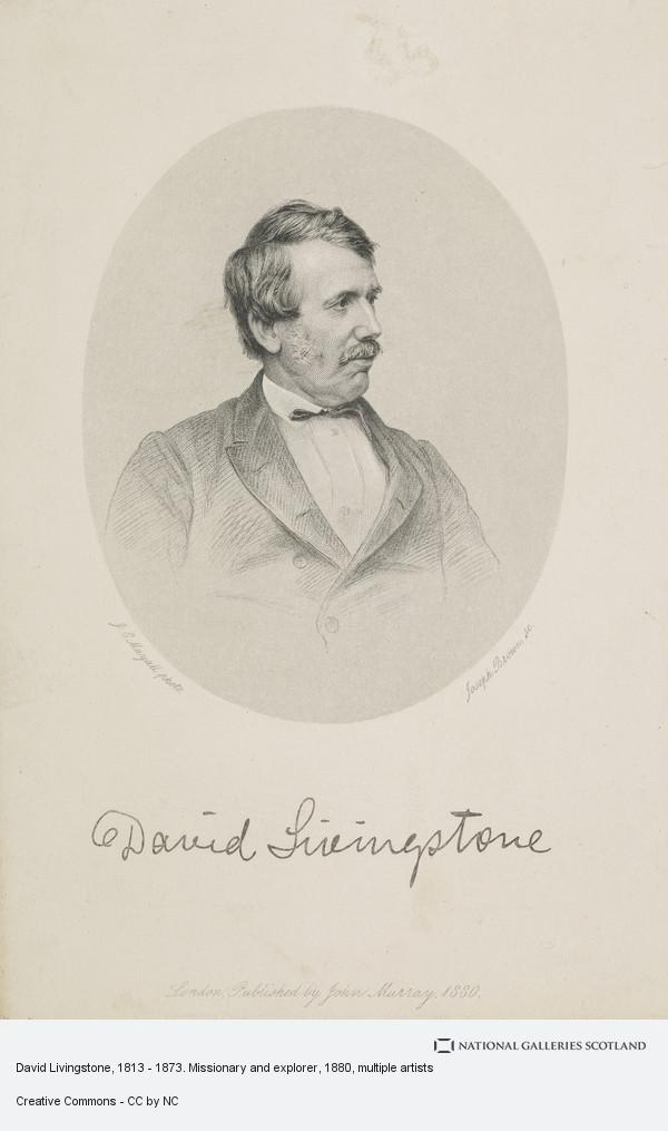 Joseph Brown, David Livingstone, 1813 - 1873. Missionary and explorer