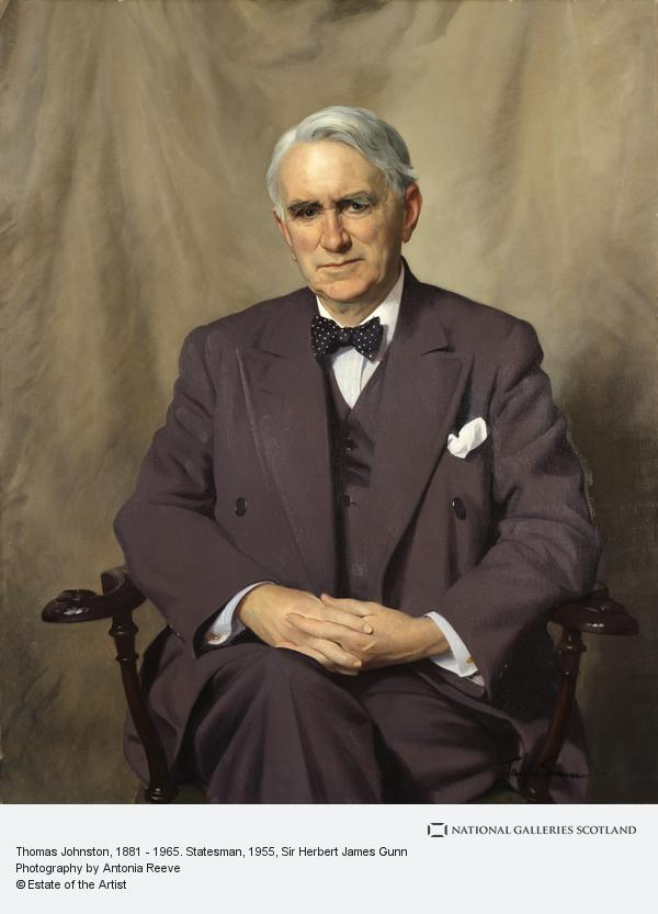 Sir Herbert James Gunn, Thomas Johnston, 1881 - 1965. Statesman