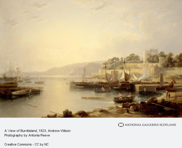 Andrew Wilson, A View of Burntisland (About 1823)