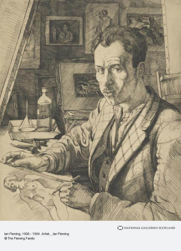 Ian Fleming, Ian Fleming, 1906 - 1994. Artist