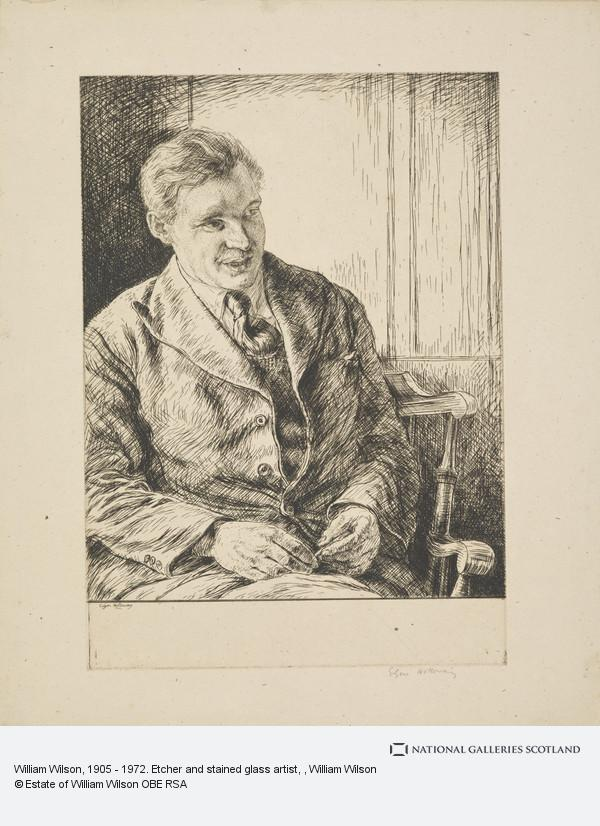 William Wilson, William Wilson, 1905 - 1972. Etcher and stained glass artist