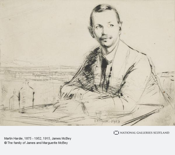 James McBey, Martin Hardie, 1875 - 1952