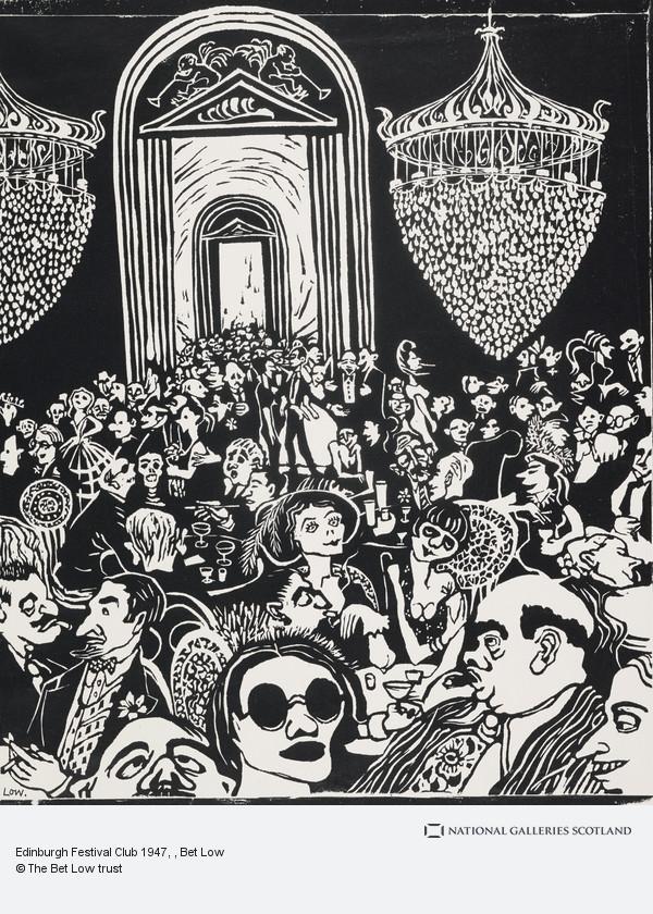 Bet Low, Edinburgh Festival Club 1947