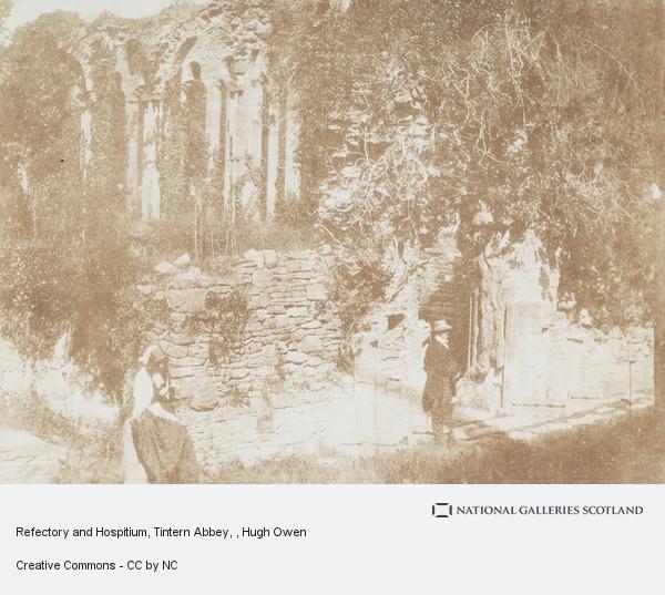 Hugh Owen, Refectory and Hospitium, Tintern Abbey