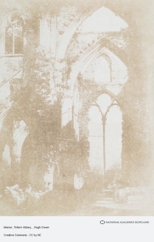 Hugh Owen, Interior, Tintern Abbey