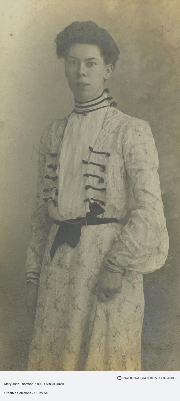 Ovinius Davis, Mary Jane Thomson