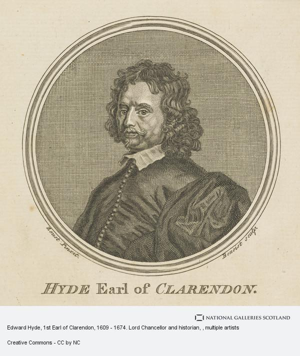 Antoine Benoist, Edward Hyde, 1st Earl of Clarendon, 1609 - 1674. Lord Chancellor and historian