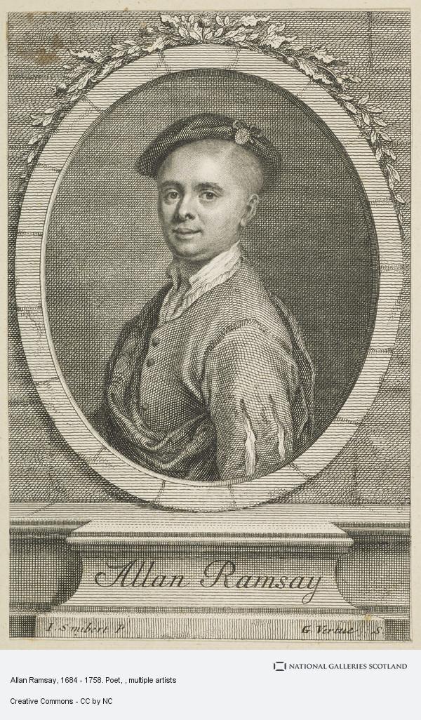 John Smibert, Allan Ramsay, 1684 - 1758. Poet
