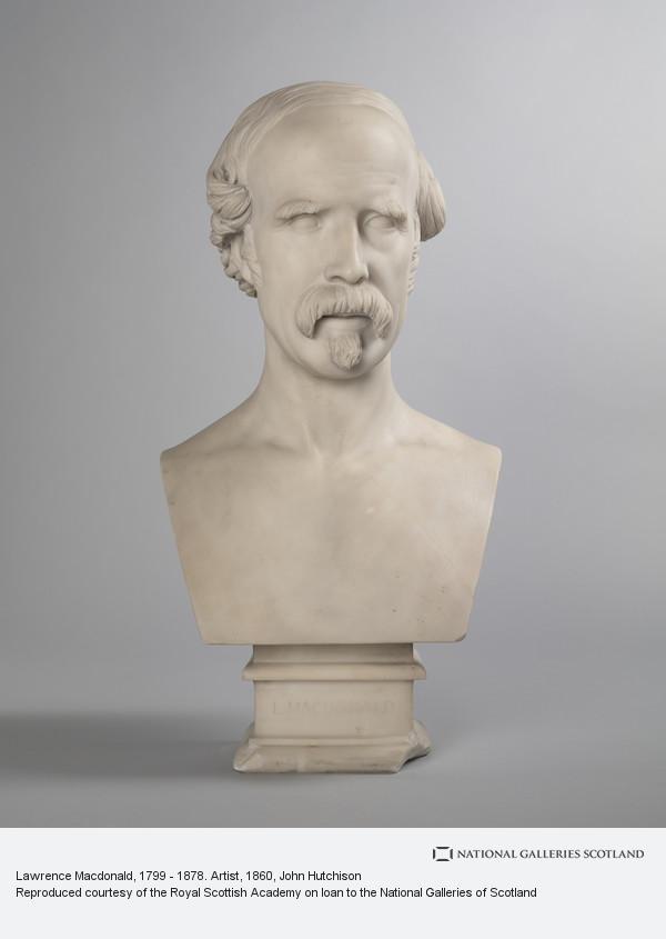 John Hutchison, Lawrence Macdonald, 1799 - 1878. Artist