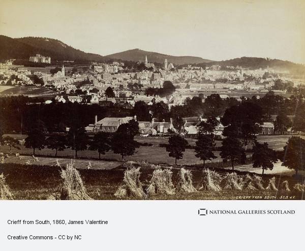James Valentine, Crieff from South