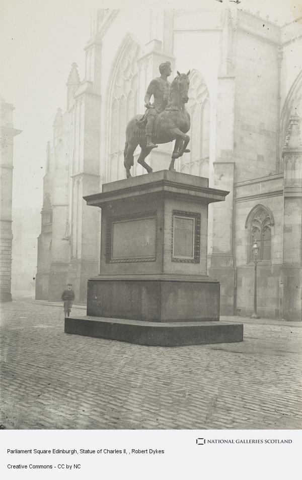 Robert Dykes, Parliament Square Edinburgh, Statue of Charles II