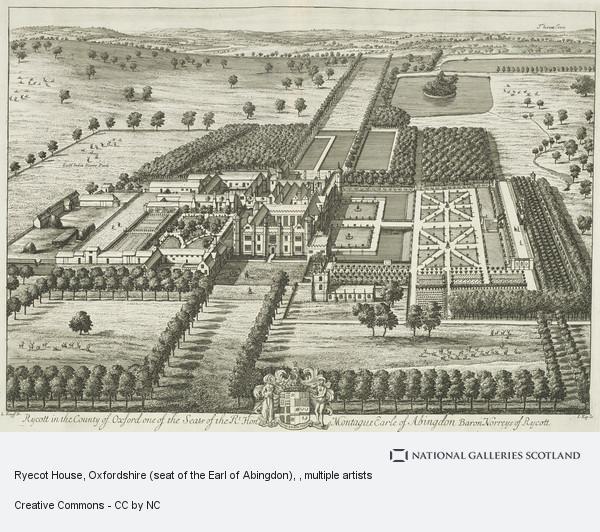 Johannes Kip, Ryecot House, Oxfordshire (seat of the Earl of Abingdon)