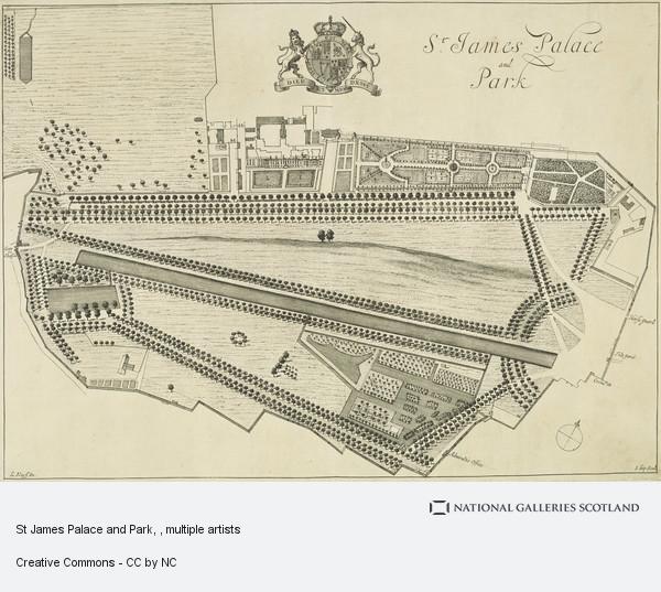 Johannes Kip, St James Palace and Park