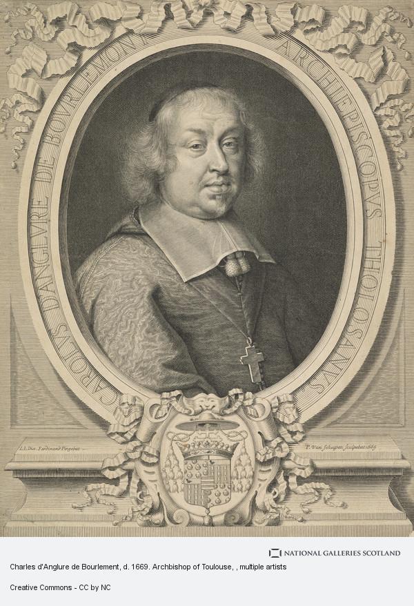 Pieter Louis van Schuppen, Charles d'Anglure de Bourlement, d. 1669. Archbishop of Toulouse