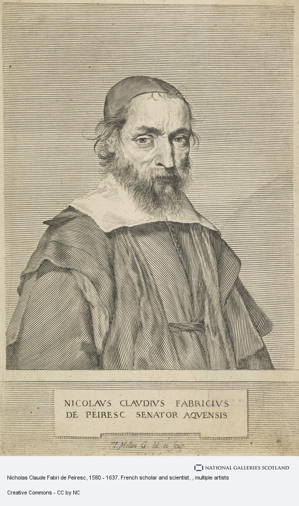 Claude Mellan, Nicholas Claude Fabri de Peiresc, 1580 - 1637. French scholar and scientist