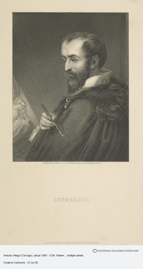 Antonio Allegri (Corregio), about 1489 - 1534. Painter | National Galleries  of Scotland