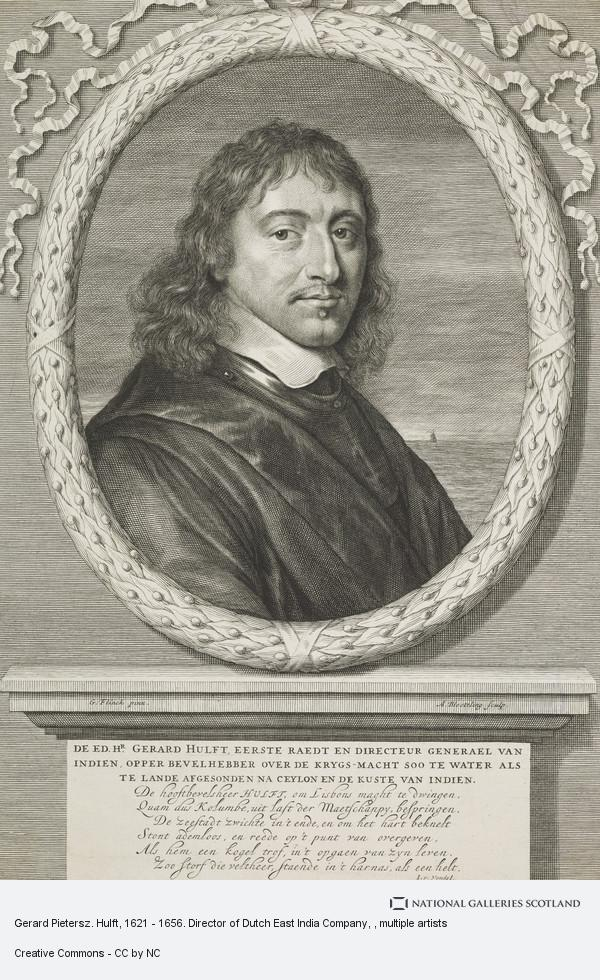 Gerard Pietersz  Hulft, 1621 - 1656  Director of Dutch East India