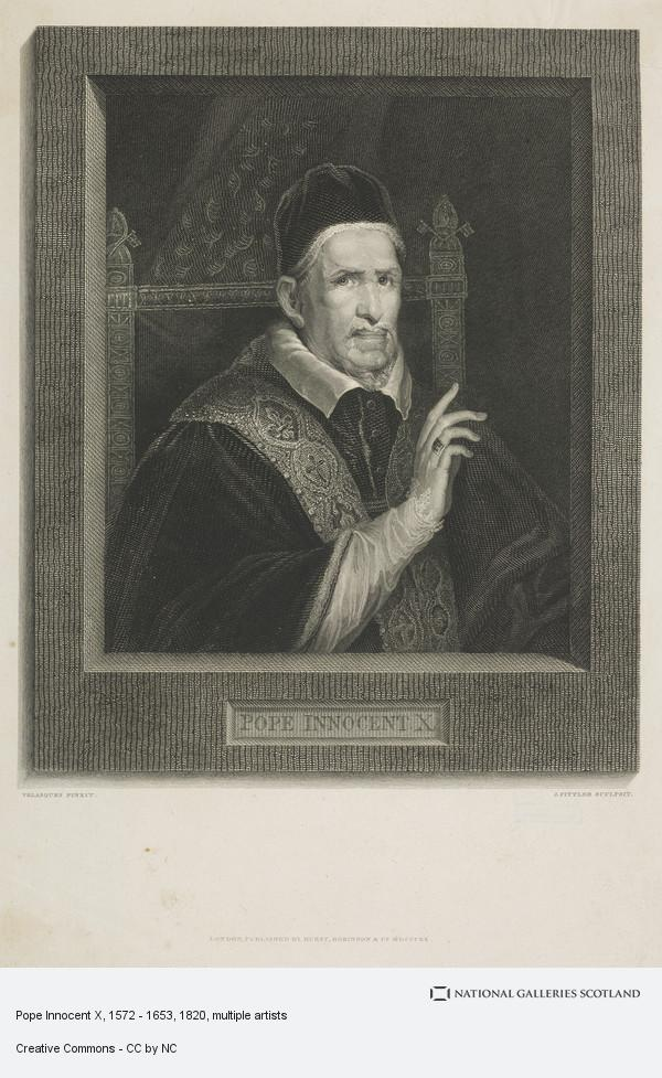 James Fittler, Pope Innocent X, 1572 - 1653