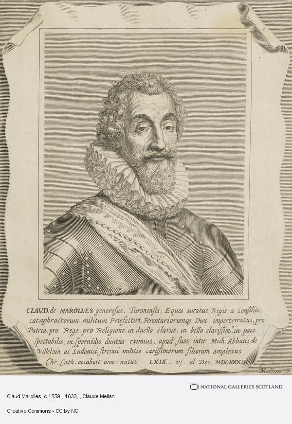 Claude Mellan, Claud Marolles, c 1559 - 1633