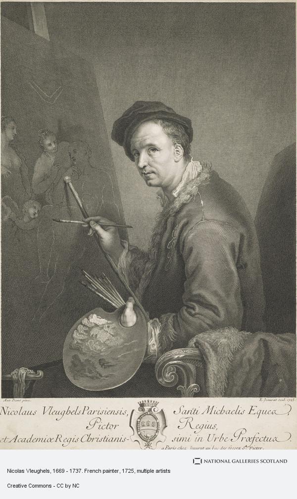 Etienne Jeaurat, Nicolas Vleughels, 1669 - 1737. French painter