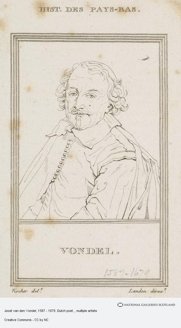 Joost Van Den Vondel 1587 1679 Dutch Poet National