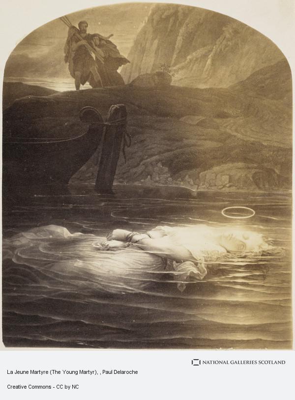 Paul Delaroche, La Jeune Martyre (The Young Martyr)