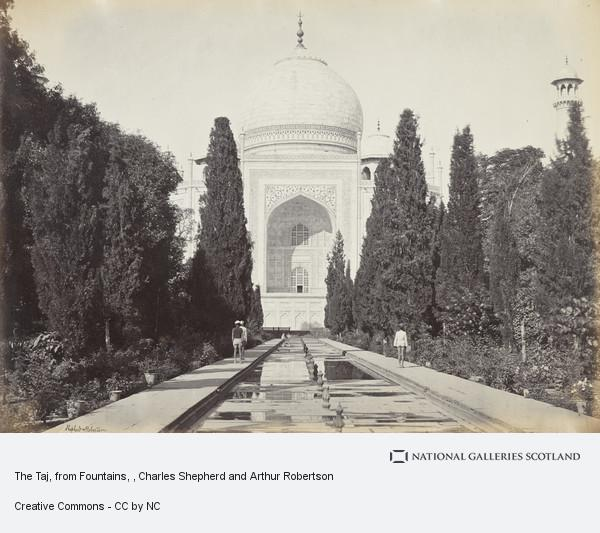 Charles Shepherd and Arthur Robertson, The Taj, from Fountains
