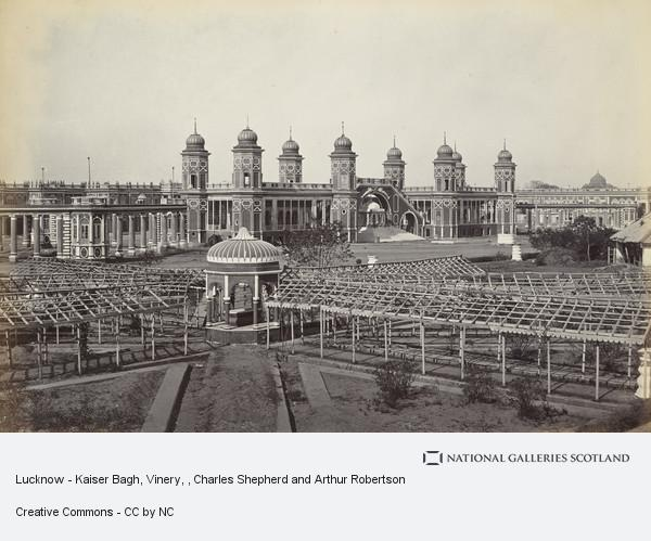 Charles Shepherd and Arthur Robertson, Lucknow - Kaiser Bagh, Vinery