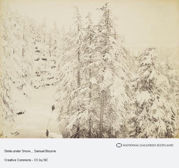 Samuel Bourne, Simla under Snow